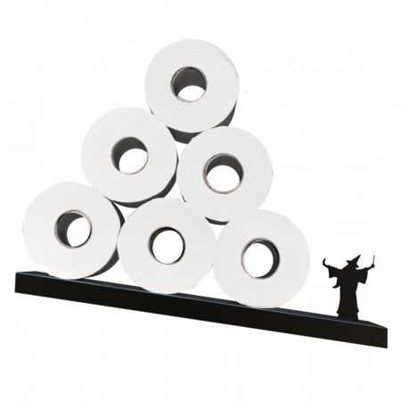 Merlin Toilet Paper Shelf - Red Candy