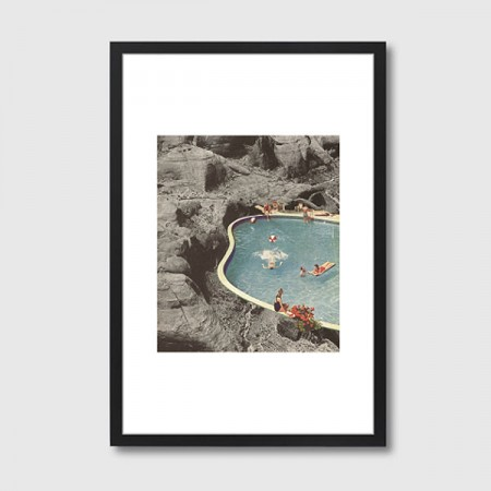 Is this the Place that they Call Framed Print - Red Candy