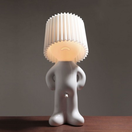 Mr. P Shy Man Lamp - Red Candy