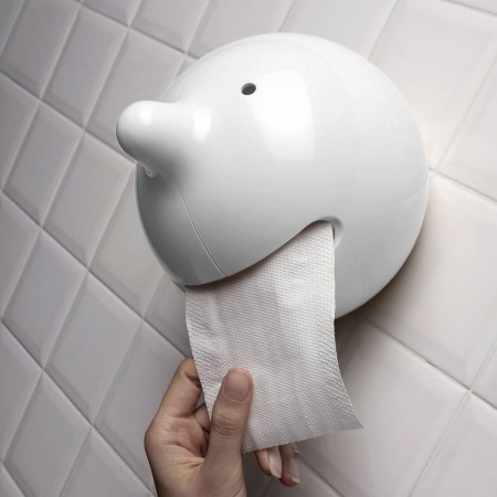Mr. P Toilet Roll Holder - Red Candy