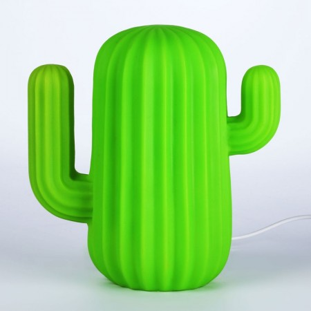 Cactus LED Lamp - Red Candy