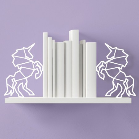 Unicorn Bookends - Red Candy