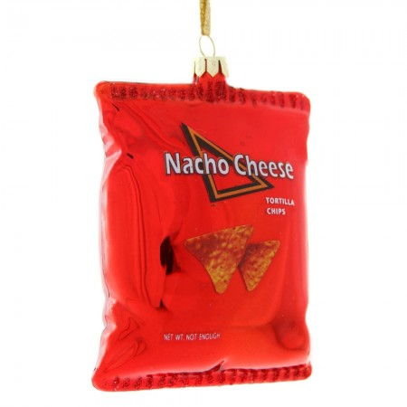 Nacho Cheese Crisps Bauble - Red Candy