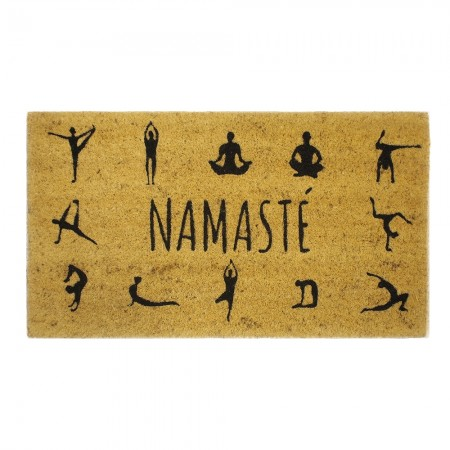 Namaste Doormat - Red Candy