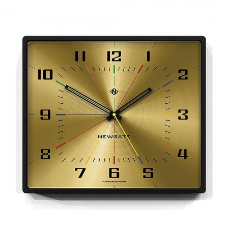 Newgate Box Office Wall Clock - Red Candy