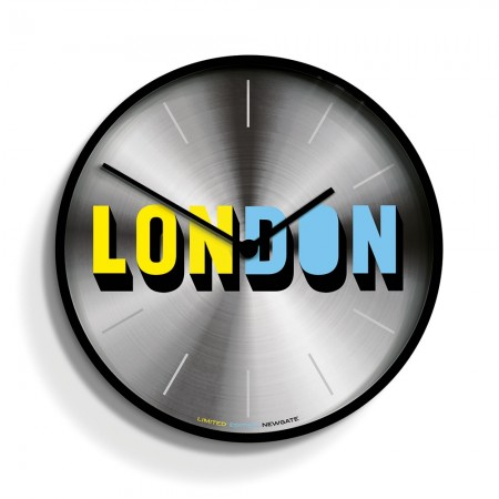 Newgate London Clock (Limited Edition) - Red Candy