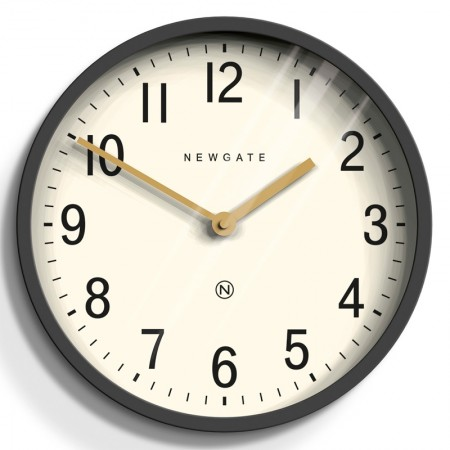 Newgate Master Edwards Clock (Blizzard Grey) - Red Candy