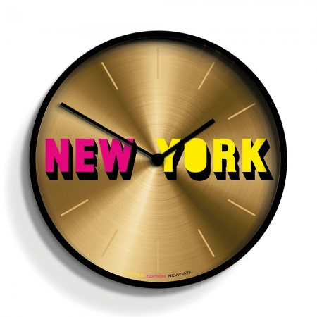 Newgate New York Clock (Limited Edition) - Red Candy