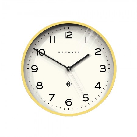 Newgate Number Three Echo Clock (Yellow) - Red Candy