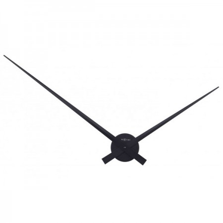 Nextime Hands Clock (Black) - Red Candy