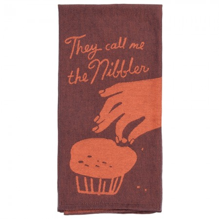 Call Me The Nibbler Tea Towel - Red Candy