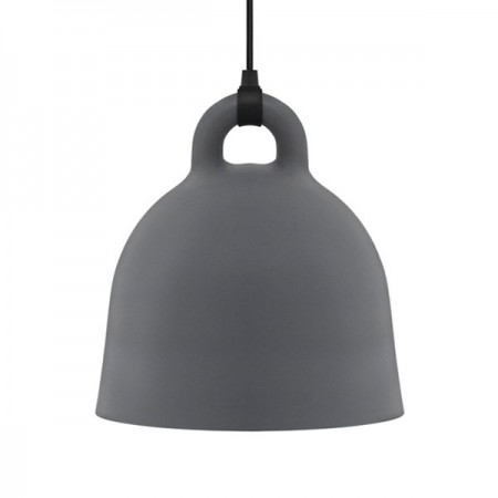 Normann Copenhagen Bell Lamp (Medium Grey) - Red Candy