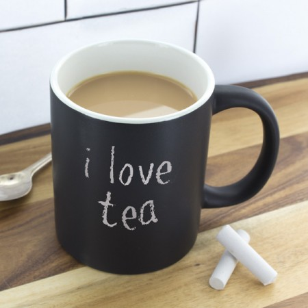 Chalkboard Mug - Red Candy