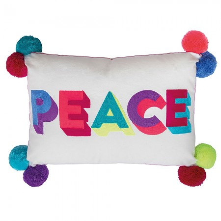Peace Cushion - Red Candy