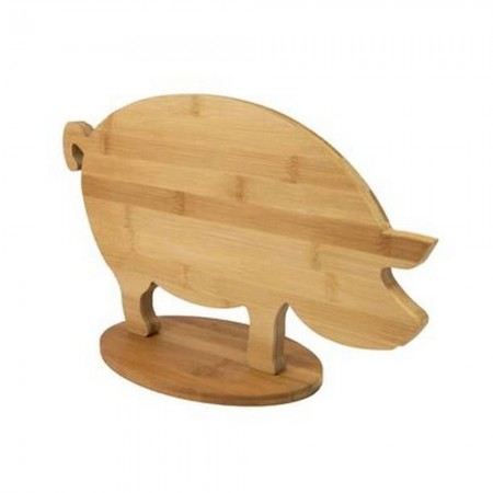 Pig Chopping Board - Red Candy