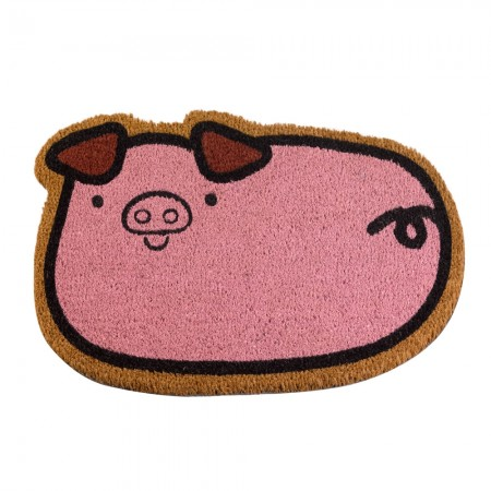 Porky Pig Doormat - Red Candy