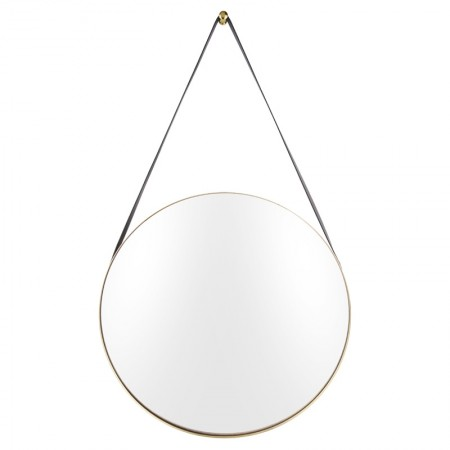 Balanced Hanging Mirror (Gold) - Red Candy