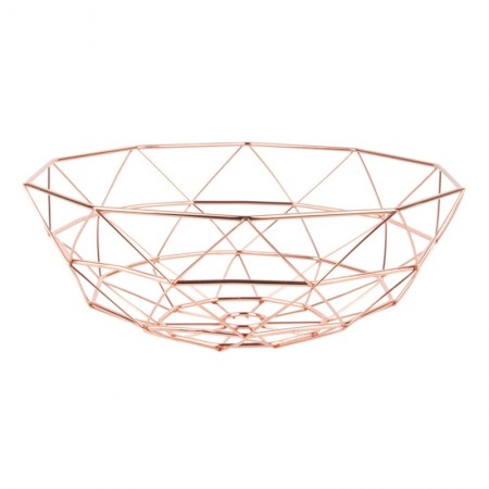 Diamond Cut Basket (Copper) - Red Candy