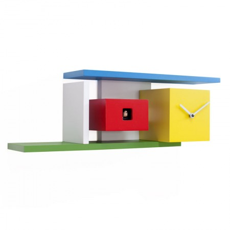 Progetti Mies Cuckoo Clock - Red Candy