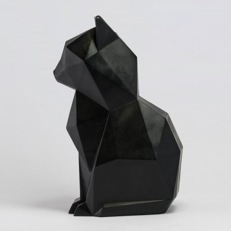 PyroPet Kisa Candle (Black) - Red Candy