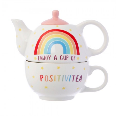Rainbow Positivitea Tea For One - Red Candy