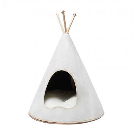 Posh Puss Bell Tent (Off White) - Red Candy