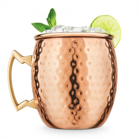 Copper Moscow Mule Mug - Red Candy