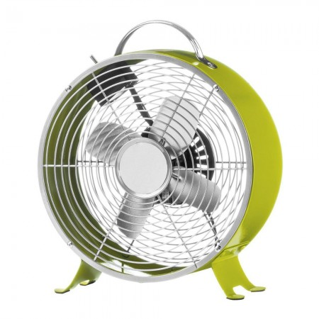 Retro Desk Fan (Lime Green) - Red Candy
