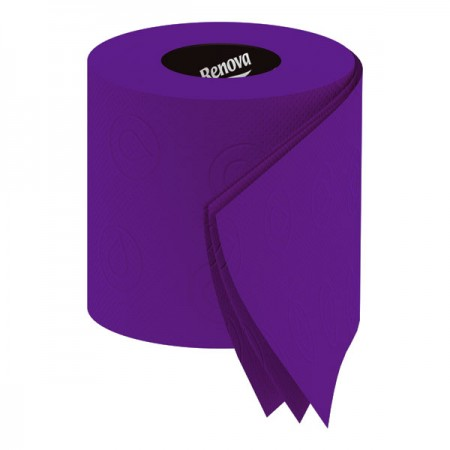 Renova Purple Toilet Paper (Pack of 6) - Red Candy