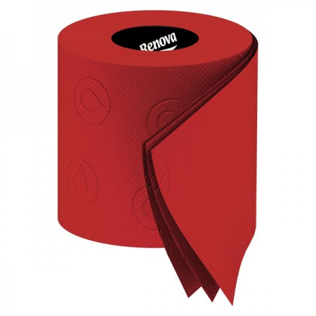 Renova Red Toilet Paper - Red Candy