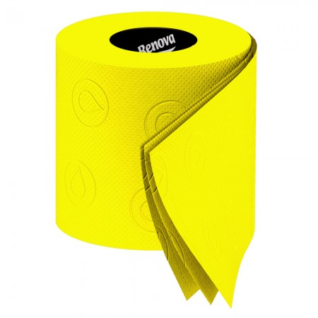 Renova Yellow Toilet Paper (Pack of 6) - Red Candy