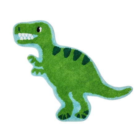 Roarsome Dinosaur T-Rex Rug - Red Candy