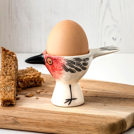 Robin Egg Cup - Red Candy
