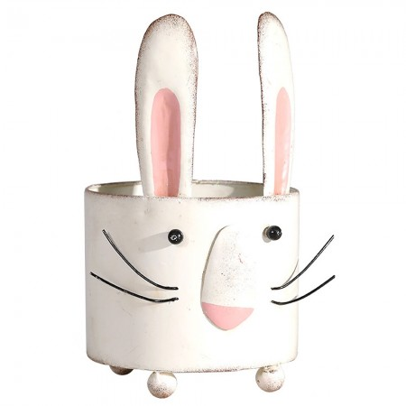Rocky the Rabbit Planter - Red Candy