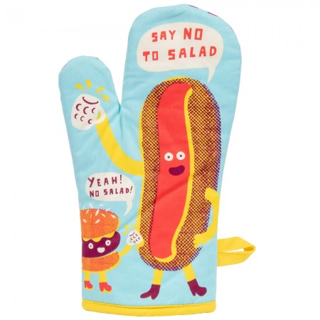 Say No To Salad Oven Glove - Red Candy