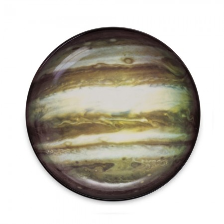 Seletti Cosmic Diner - Jupiter Soup Plate - Red Candy