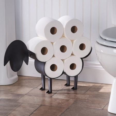 Baabara Toilet Paper Holder Sheep - Red Candy
