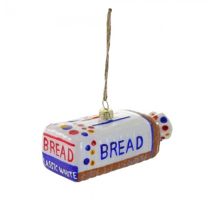 Sliced Bread Bauble - Red Candy