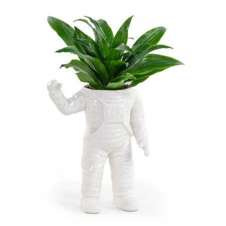 Spaceman Planter - Red Candy