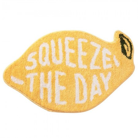 Squeeze the Day Bath Mat - Red Candy