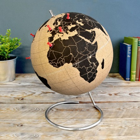 Suck UK Cork Globe - Red Candy