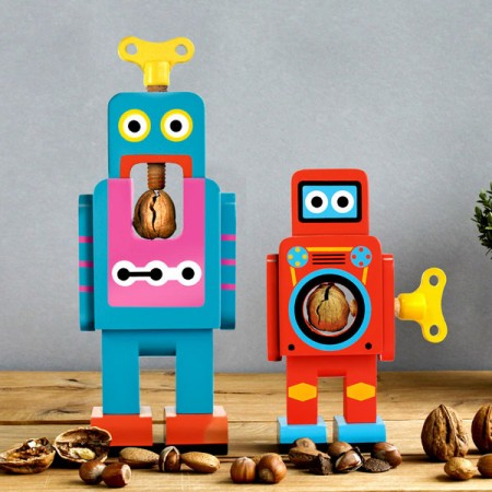 Suck UK Robot Nutcracker - Red Candy