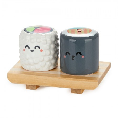 Sushi Salt & Pepper Shakers - Red Candy