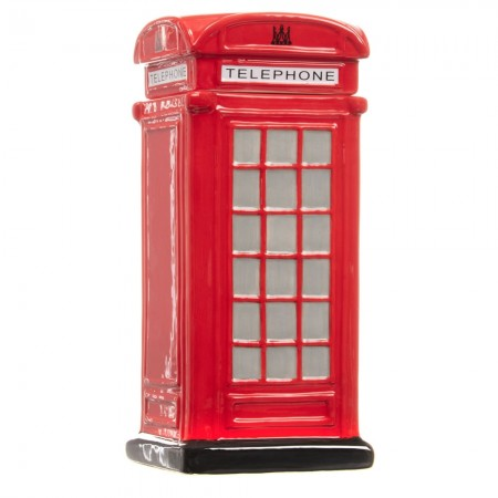 Telephone Box Cookie Jar - Red Candy