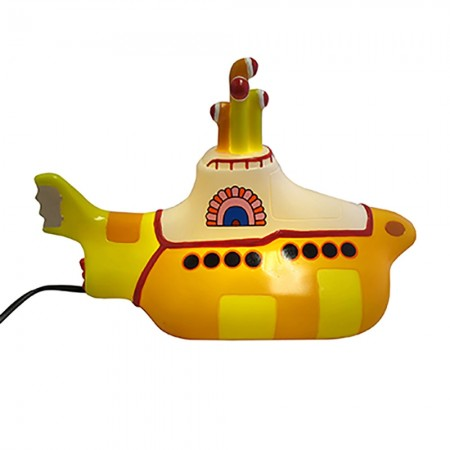 The Beatles Yellow Submarine Lamp - Red Candy