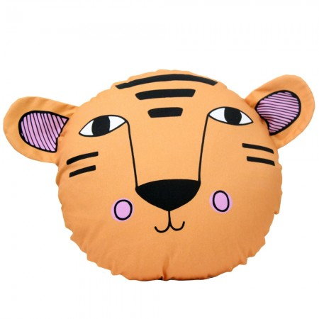 Tully the Tiger Cushion - Red Candy