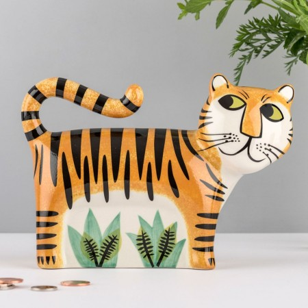 Tiger Money Box - Red Candy