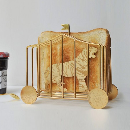 Tiger Toast Rack - Red Candy