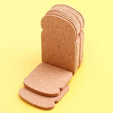 Toast Coasters - Red Candy
