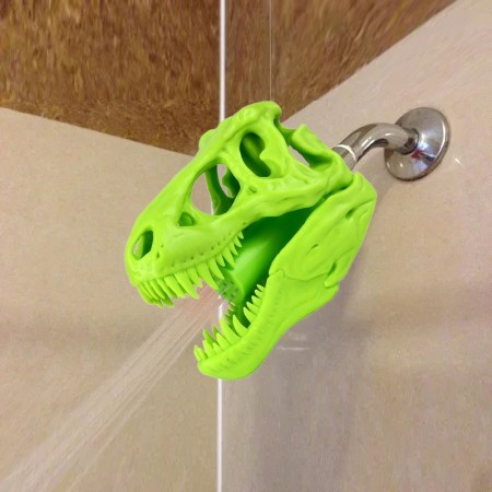 Roarsome Dino Shower Head (Green) - Red Candy